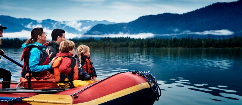 Viajar com a Princess para o Alasca - excursões