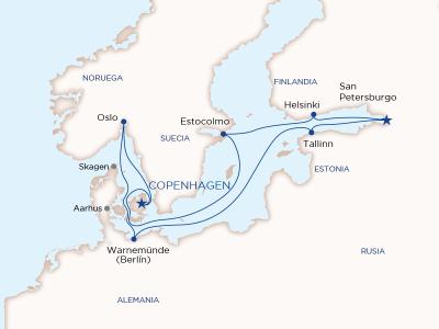 Cruceros desde Copenhague
