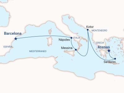 Atenas a Barcelona - Princess