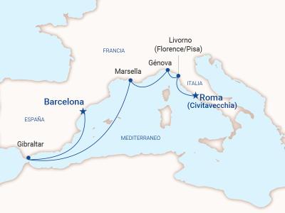 Barcelona a Roma - Princess