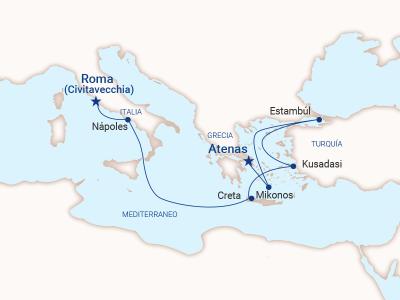 Roma a Atenas - Princess